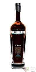Takamaka bay St.André aged 8 years rum of Seychelles islands 40% vol.  1.00 l