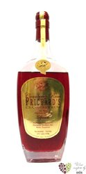 "Prichard´s "" Cranberry "" flavored rum of American Virginia islands 35% vol.   0.70 l"