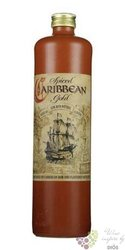 Caribbean spiced gold stone bottle flavored Panamas rum 40% vol.    0.70 l