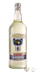 "Belmont Estate "" White coconut "" flavored rum of St. Kitts 30% vol.    0.70 l"