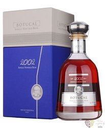 Botucal 2002 single vintage rum of Venezuela 43% vol.  0.70 l