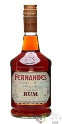 "Fernandes "" Dark "" aged 5 years rum of Trinidad & Tobago 40% vol.    0.70 l"