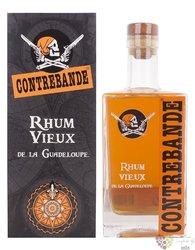 """Contrebande vieux """" Autou du rhum """" agricole rum of Guadeloupe 42% vol.  0.70 l"""