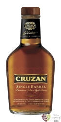 "Cruzan "" Single barrel "" aged rum of St.Croix 40% vol.  0.70 l"