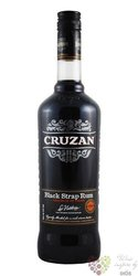 "Cruzan "" Black strap "" rum of Virginia Islands 40% vol.  1.00 l"