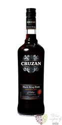 "Cruzan "" Black strap "" rum of Virginia Islands 40% vol.  0.70 l"