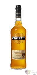 "Cruzan "" Aged dark "" rum of St.Croix 40% vol.     1.00 l"