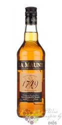 """la Mauny agricole vieux """" 1749 Ambré classic Oak aged """" rum of Martinique 40% vol.  0.70 l"""