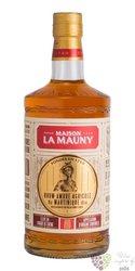 """la Mauny agricole vieux """" Ambré """" aged rum of Martinique 40% vol. 0.70 l"""