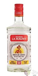 "La Mauny agricole blanc "" 50 "" white rum of Martinique 50% vol.   0.70 l"