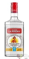 "la Mauny agricole blanc "" 40 "" white rum of Martinique 40% vol.  0.70 l"