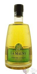 "la Mauny agricole "" Lime Peel Shrubb "" flavored rum of Martinique 30% vol.   0.70 l"