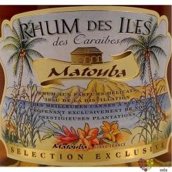 """Matouba """" Ambre """" rum of Guadeloupe 40% vol.    0.70 l"""