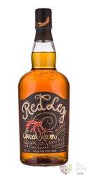 "RedLeg "" Spiced Vanilla "" flavored Caribbean rum 37.5% vol.  0.70 l"