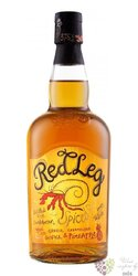 "RedLeg "" Ginger & Caramelised Pineapple "" flavored Caribbean rum 37.5% vol.  0.70 l"