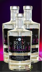 "Fire Velvet "" Overproof "" white rum of Jamaica 63% vol.     0.05 l"