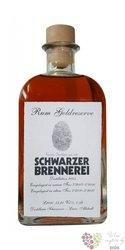 Schwarzer Brennerei goldreserve rum of Austria 53% vol.    0.50 l