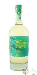 """Tres Hombres batch 11 """" la Palma Joven """" rum of Dominican republic 40.4% vol.  0.70 l"""