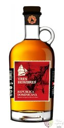 "Tres Hombres batch 26 "" Oliver & Oliver "" aged 18 years Dominican rum 42% vol.0.70 l"