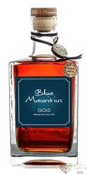"""Blue Mauritius """" Gold """" aged rum of Mauritius 40% vol.  0.70 l"""