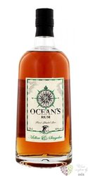 "Ocean´s "" Mellow & Singular "" aged 7 years caribbean rum of Canary Islands 40% vol.    0.70 l"