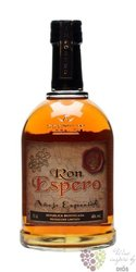 "Espero "" Anejo especial "" aged rum of Dominican republic 40% vol.    0.70 l"