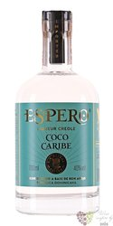 "Espero "" Coco Caribe "" Creole rum of Dominican republic 40% vol.   0.70 l"