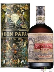 "Don Papa art "" Flora & Fauna "" aged Filipinian rum 40% vol.  0.70 l"