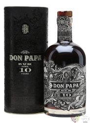 Don Papa aged 10 years Filipinian rum 43% vol.  0.70 l