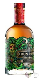 "Don Papa "" Masskara "" unique aged Filipinian rum 40% vol.  0.70 l"