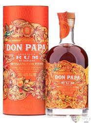 "Don Papa "" Sevillana cask "" unique aged Filipinian rum 40% vol.  0.70 l"