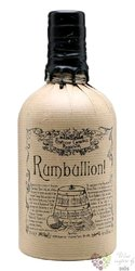 "Professor Cornelius Ampleforth´s "" Rumbullion Navy strength "" old English rum 57% vol.  0.70 l"