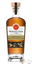 "Worthy Park "" Single Estate Reserva "" aged Jamaican rum 45% vol.  0.70 l"