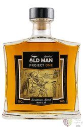 "Old Man "" Project 1 b.37 "" aged Caribbean rum 40% vol.    0.70 l"