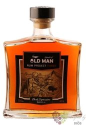 "Old Man "" Project 3.Dark expression "" aged Caribbean rum 40% vol.  0.70 l"