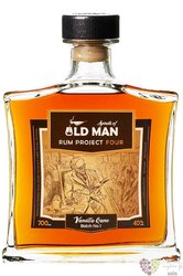 "Old Man "" Project 4. Vanilla cane "" aged Caribbean rum 40% vol.    0.70 l"
