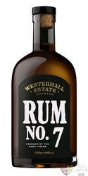 "Westerhall Estate "" Plantation "" aged rum of Grenada 43% vol.     0.70 l"