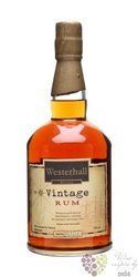 "Westerhall Estate "" Vintage "" aged 10 years rum of Grenada 40% vol.     0.70 l"