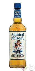 "Admiral Nelson´s "" Spiced "" flavored caribbean rum 35% vol.    1.00 l"