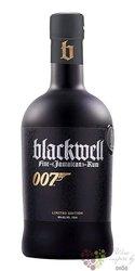 "Blackwell "" 007 "" aged Jamaican rum 40% vol.   0.70 l"
