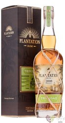 "Plantation Vintage edition 2008 "" Trinidad "" aged Caribbean rum 42% vol.  0.70 l"