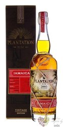 "Plantation Vintage edition 2005 "" Jamaica "" aged caribbean rum 45.2% vol.  0.70l"