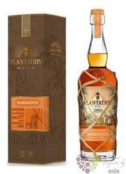 """Plantation Vintage edition 2005 """" Barbados """" aged caribbean rum 42.8% vol.  0.70 l"""