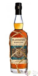 "Plantation Black cask "" no.4 Barbados & Fiji "" aged caribbean rum 40% vol.  0.70 l"