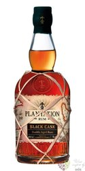 "Plantation Black cask "" no.5 Barbados & Jamaica "" aged caribbean rum 40% vol.  0.70 l"