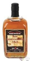 "Indipendente 1821 "" Solera 8 aňos "" aged Panamas rum 38% vol.    0.70 l"
