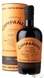 "Companero 1423 "" Elixir Orange "" flavored Trinindad rum 40% vol.  0.70 l"