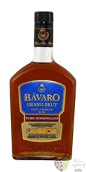 "Bavaro "" Grand brut "" aged 15 years rum of Dominican republic 38% vol.   0.70 l"