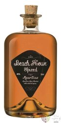 "Beach House "" Spiced "" flavored rum of Mauritius 40% vol.  0.70 l"