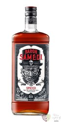 "Baron Samedi "" Spiced "" flavored Caribbean rum 40% vol.  0.70 l"